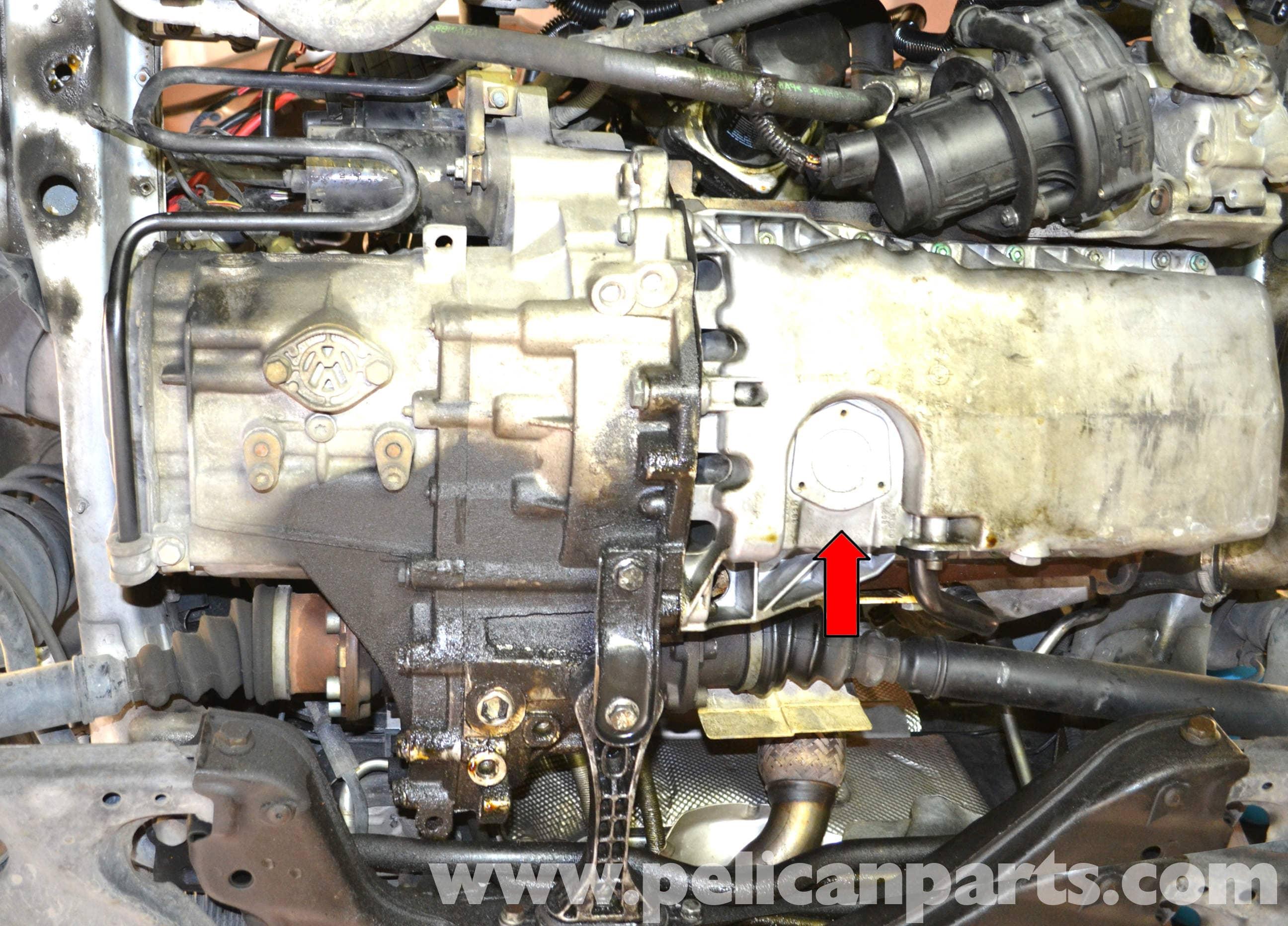 Volkswagen Golf GTI Mk IV Oil Level and Temperature Sensor ...