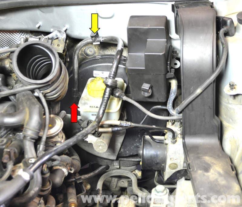 volkswagen golf gti mk iv brake master cylinder and