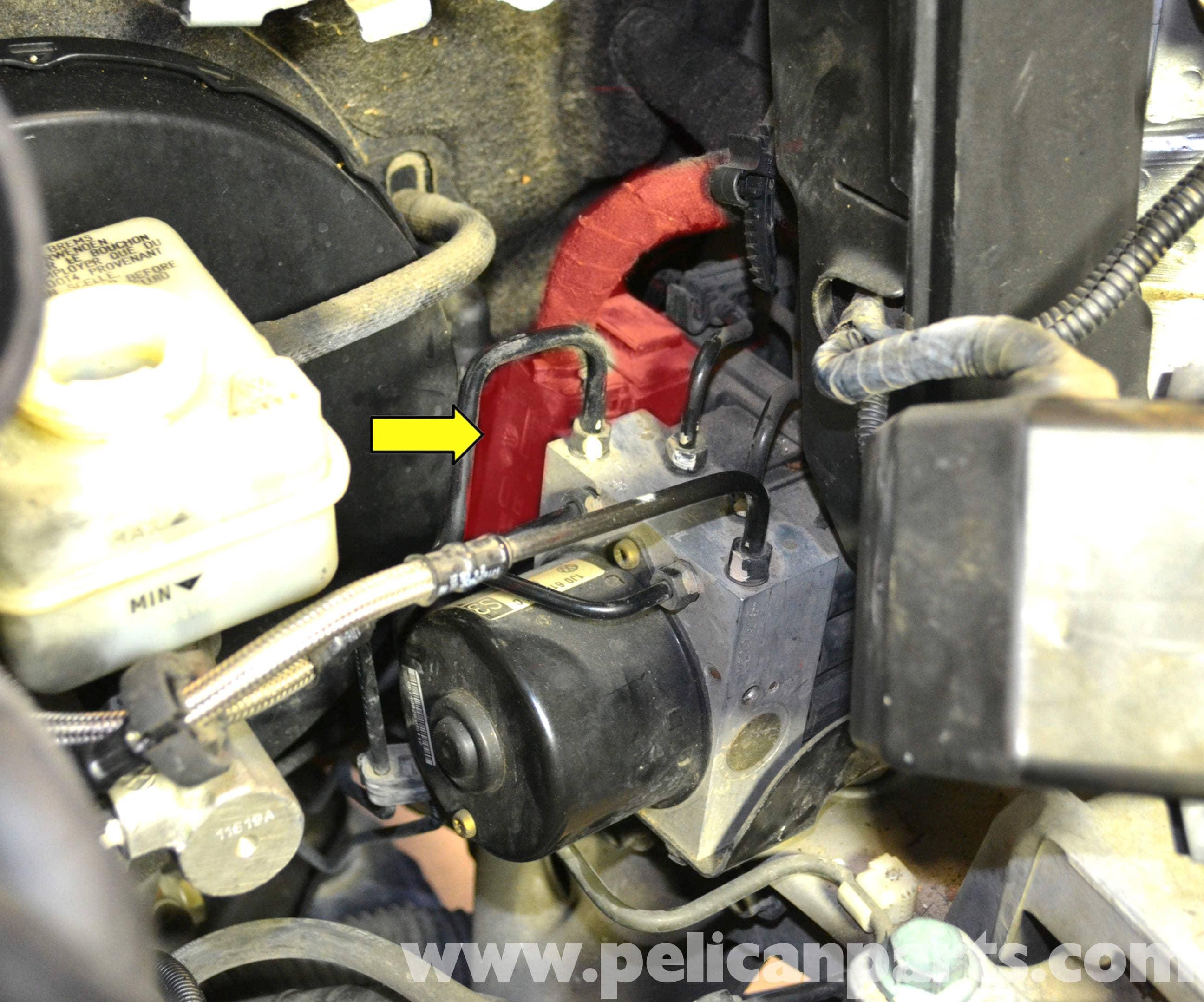 Volkswagen Golf GTI Mk IV ABS Control Module Replacement