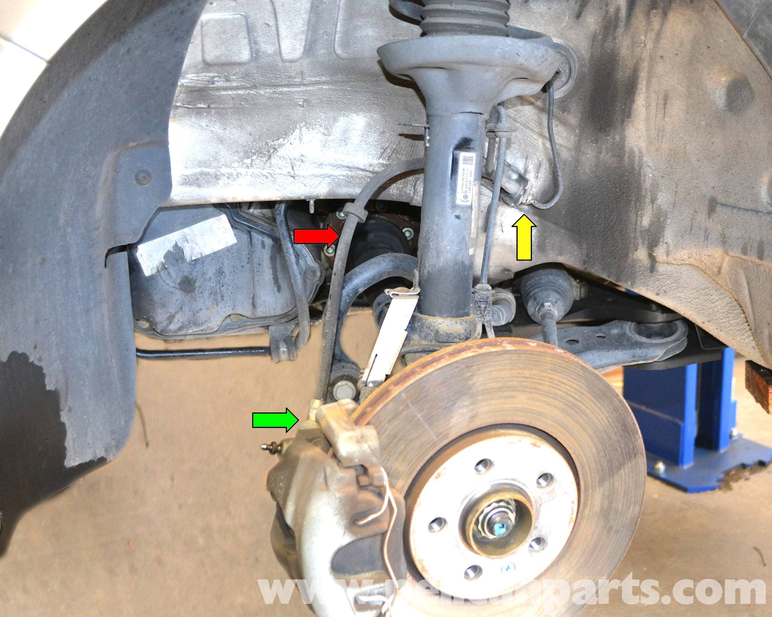 Volkswagen Golf Gti Mk Iv Brake Line Replacement 1999 2005 Car System Diagram Passenger Large Image Extra