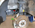 The rubber brake lines are often responsible for poor brake performance.
