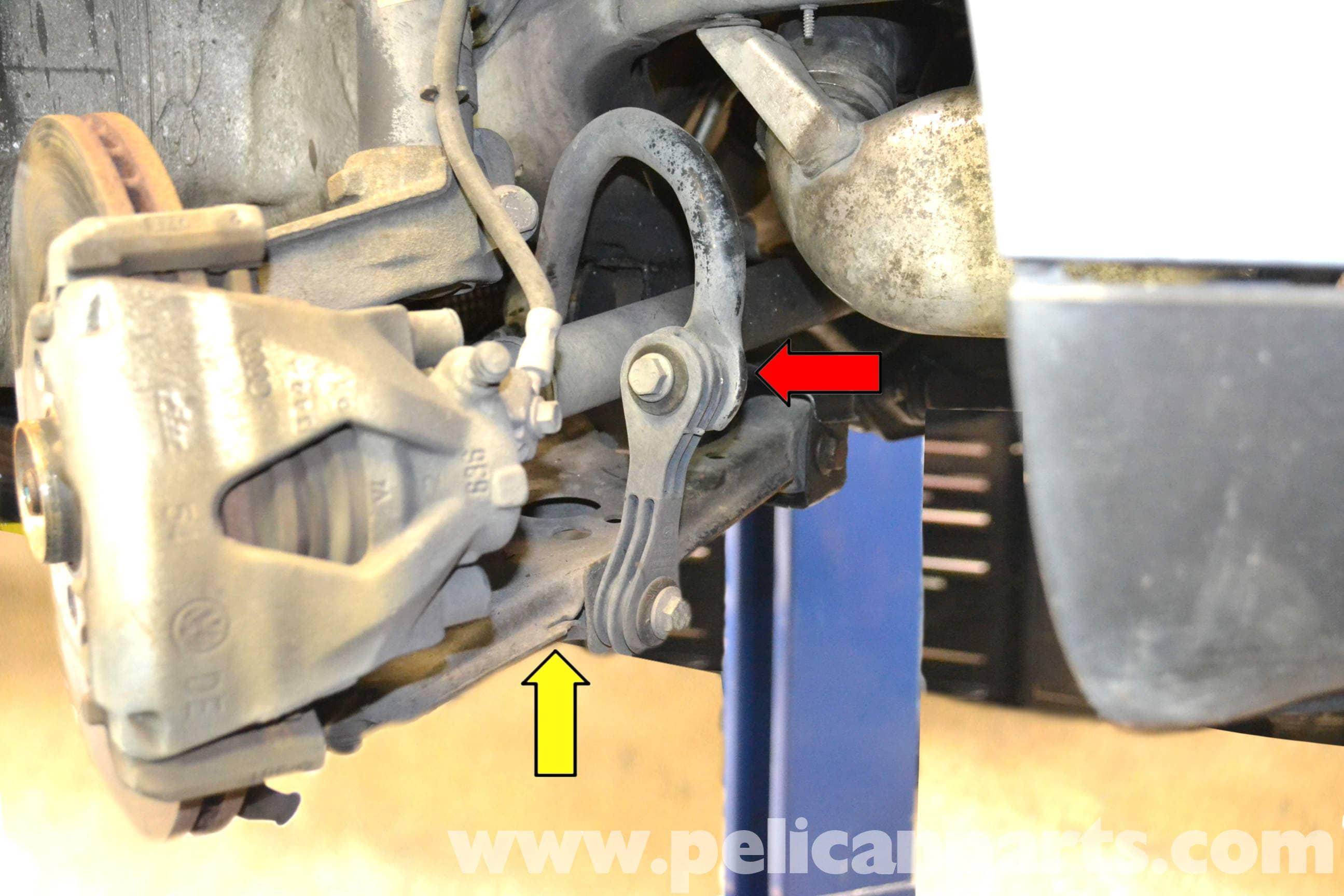Volkswagen Golf GTI Mk IV Front Sway Bar Bushing Replacement (1999-2005) - Pelican Parts DIY ...