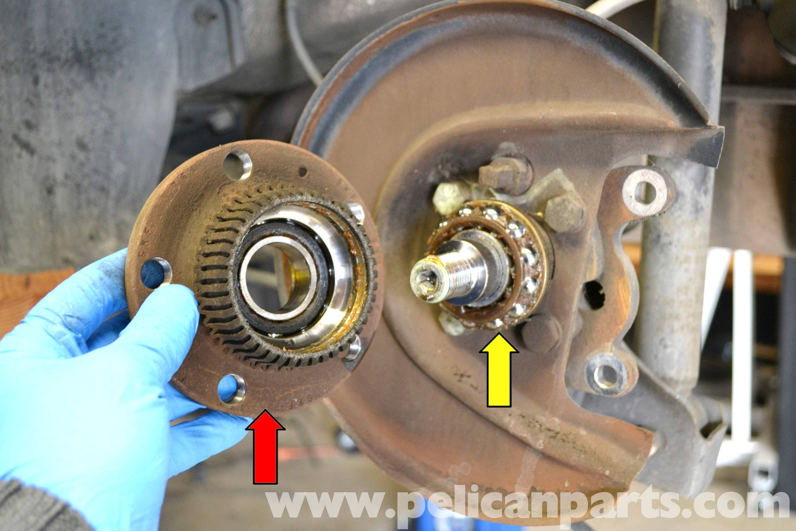 Volkswagen Golf Gti Mk Iv Rear Wheel Hub And Bearing Replacement 1999 2005 Pelican Parts Diy Maintenance Article