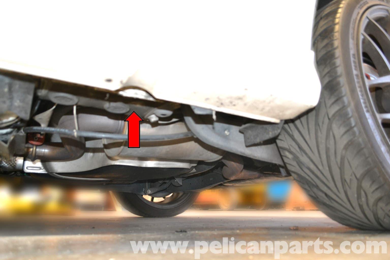 Volkswagen Golf Gti Mk V Jacking Up Your Vehicle  2006-2009