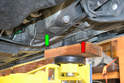 This photo illustrates the rear lifting area.
