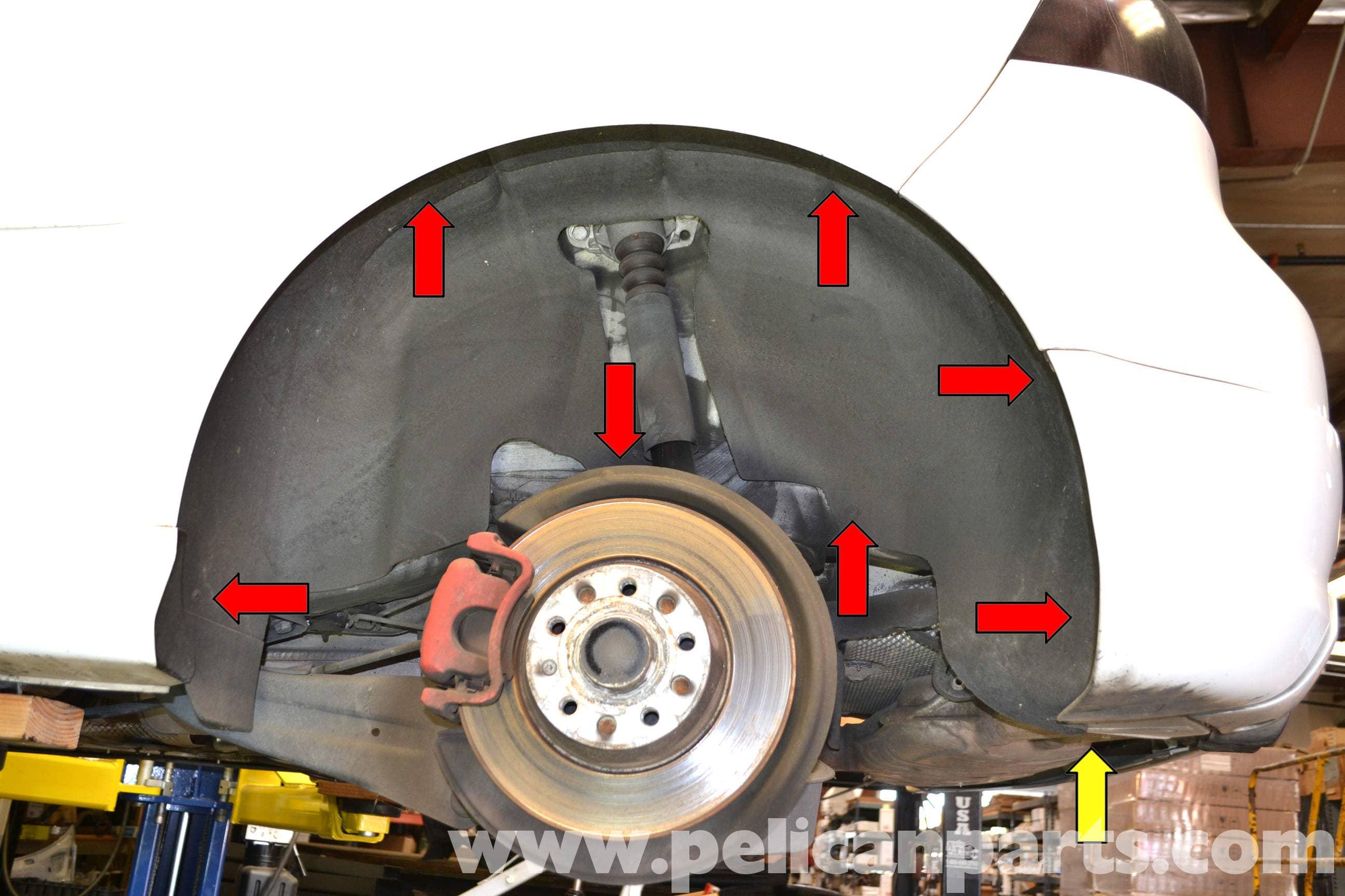 Volkswagen Golf GTI Mk V Wheelwell Liner Removal (2006-2009 ... d9944518a