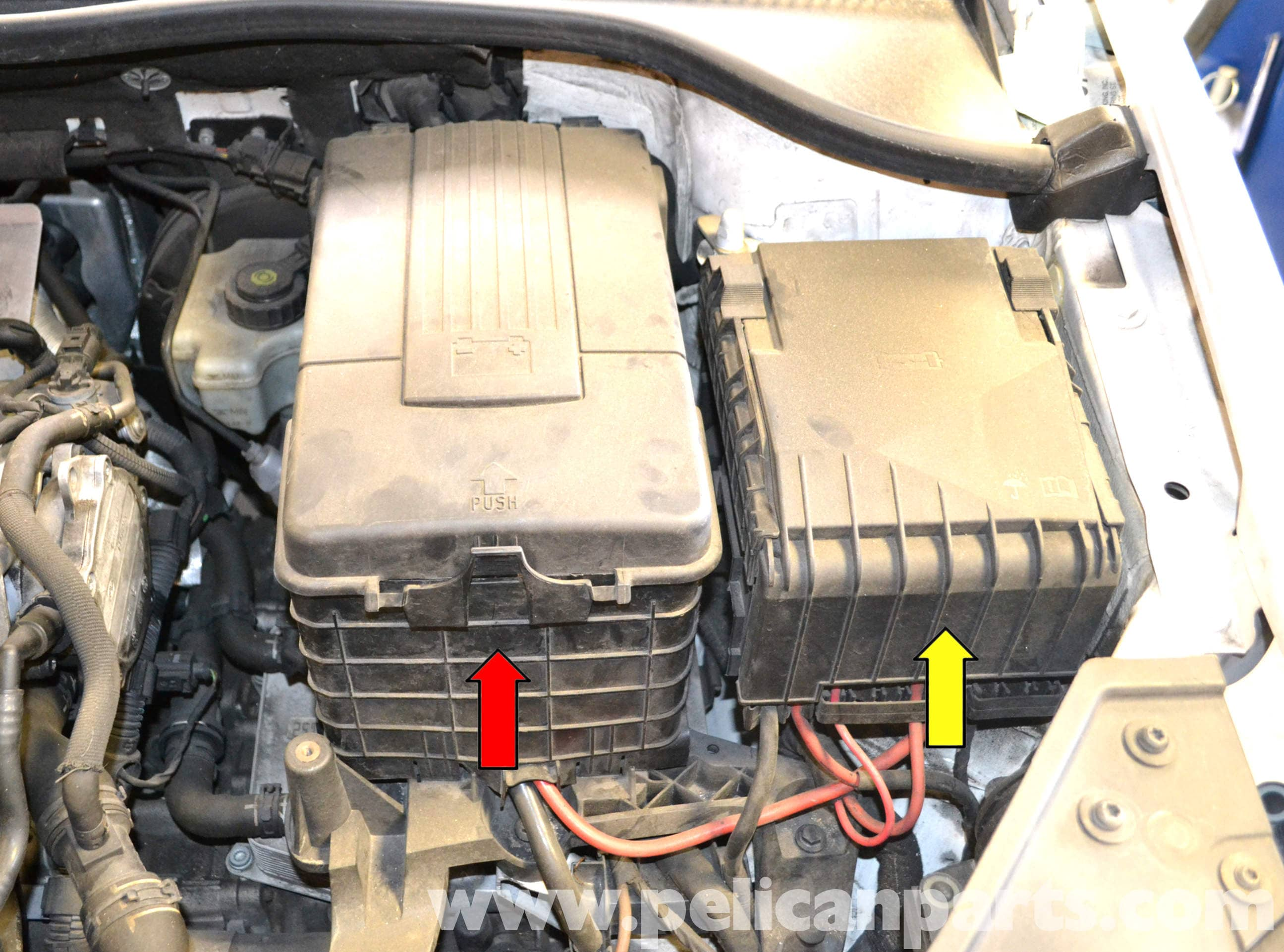 Volkswagen Golf GTI Mk V Battery Replacement and Connection