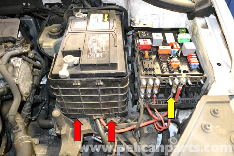 Volkswagen Golf GTI Mk V Battery Replacement and