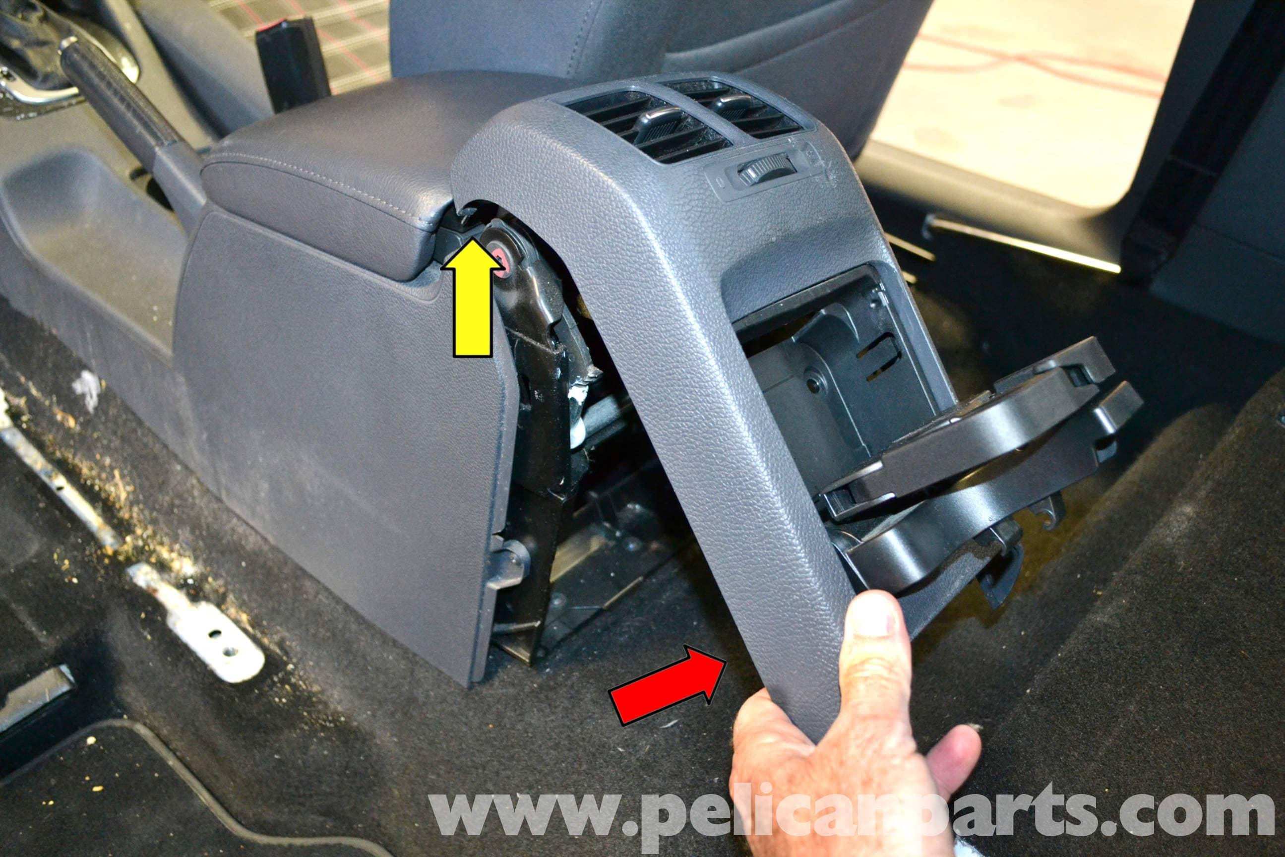 Volkswagen Golf Gti Mk V Rear Center Console Removal 2006
