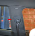 Rear Side Panel: To remove the rear side panel you will need to first remove the rear seats and sill trim piece.