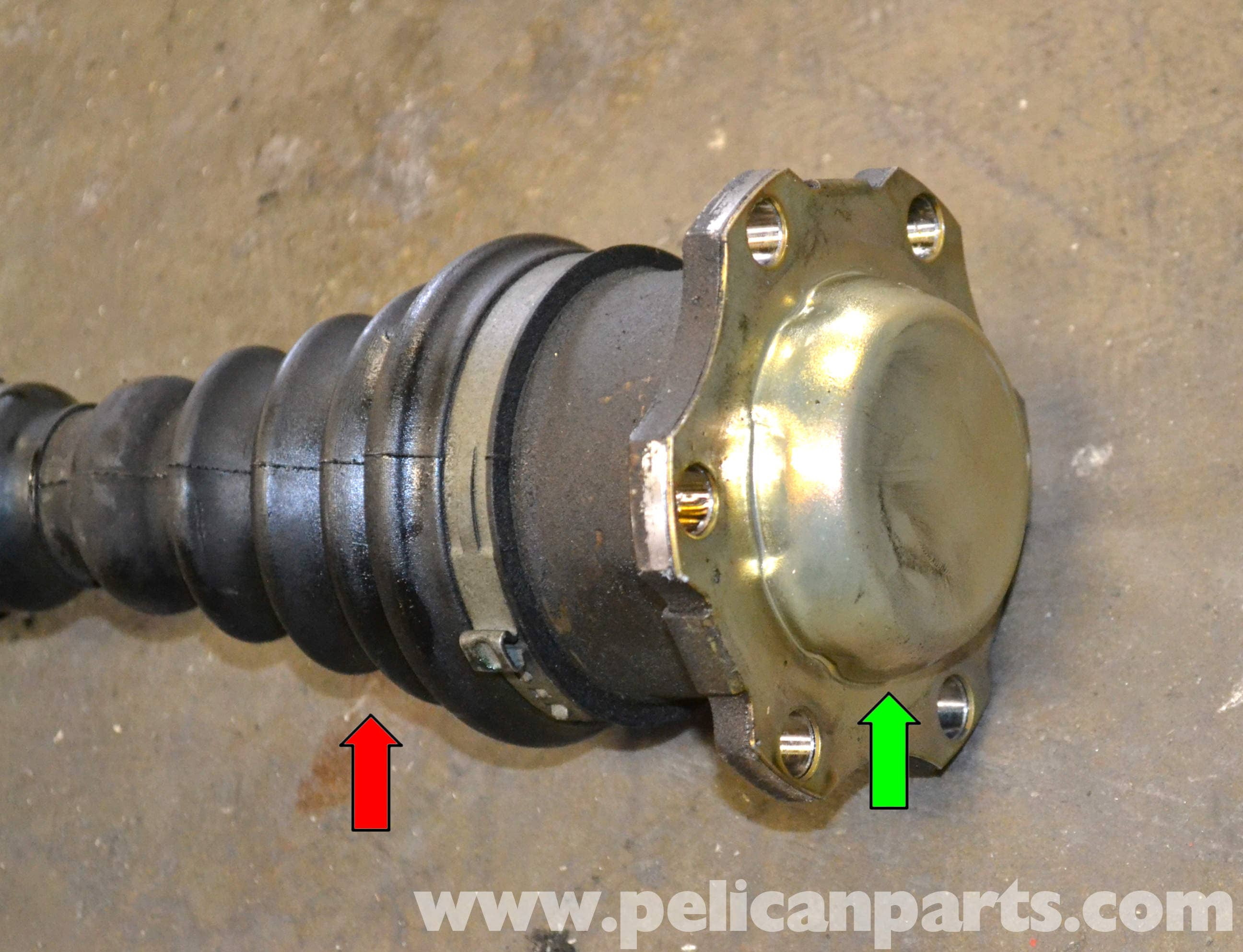 Volkswagen Golf GTI Mk V Front Drive Axle Replacement (2006
