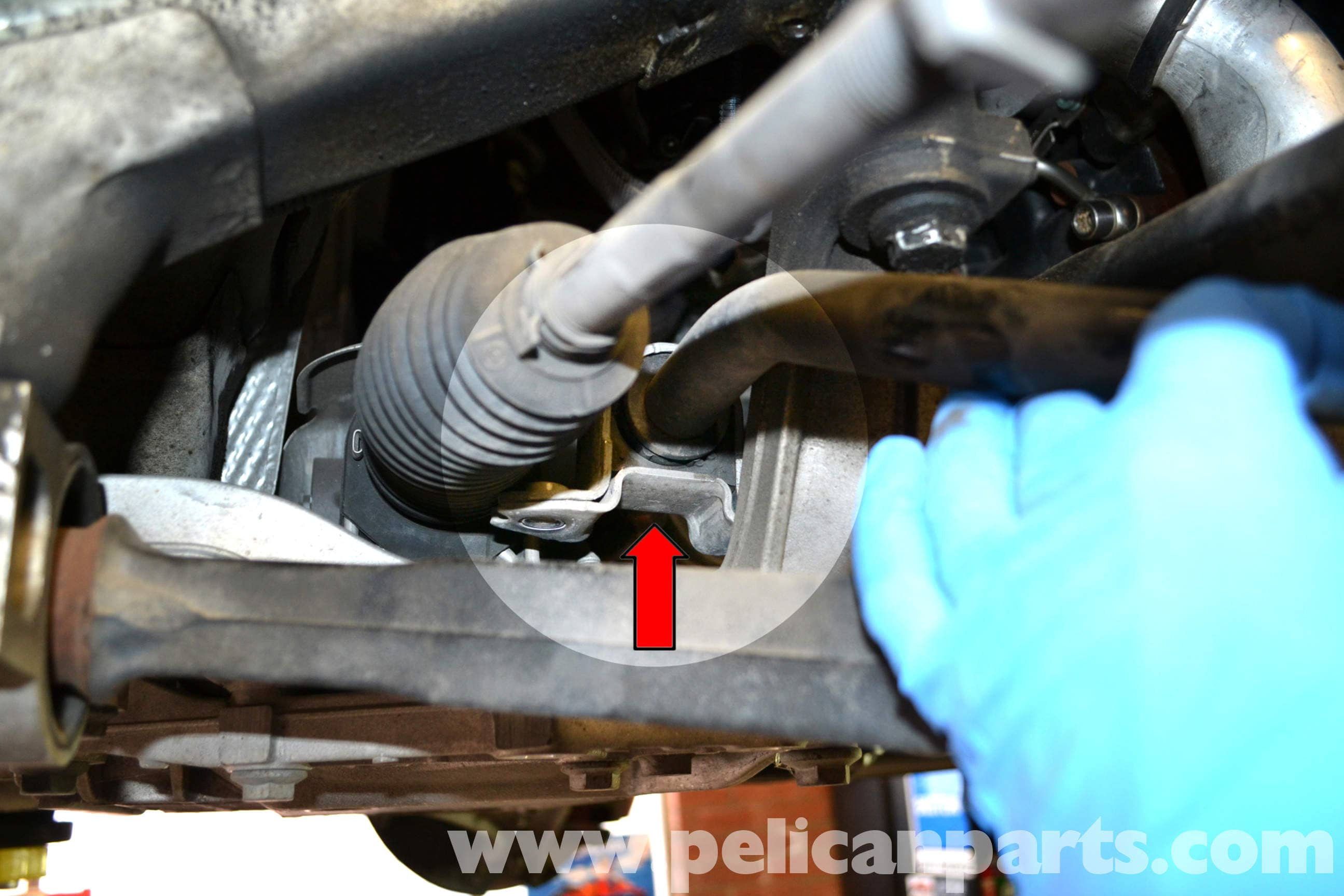 Volkswagen Golf GTI Mk V Front Sway Bar Bushings Replacement