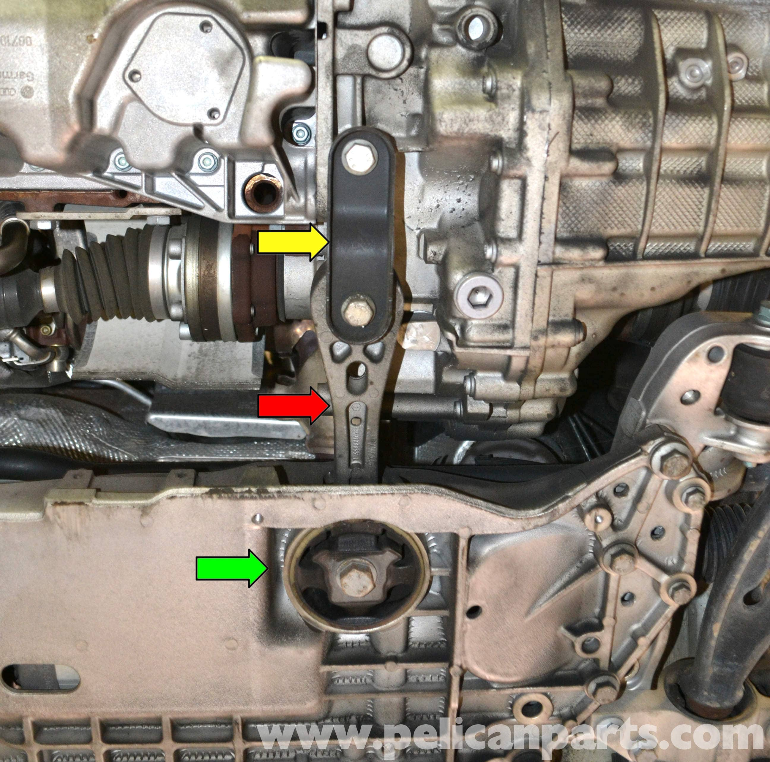 Please Help Looking For A Transmission Removal Diy: Volkswagen Golf GTI Mk V Front Sway Bar Bushings
