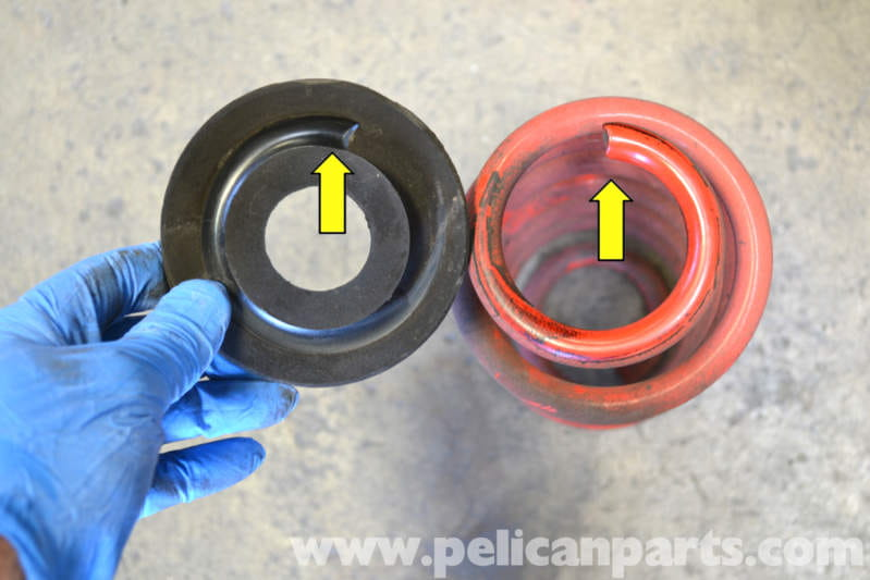 Suspension - Rear Coil Spring Perch For Golf Mk5 Gti - What Part Number
