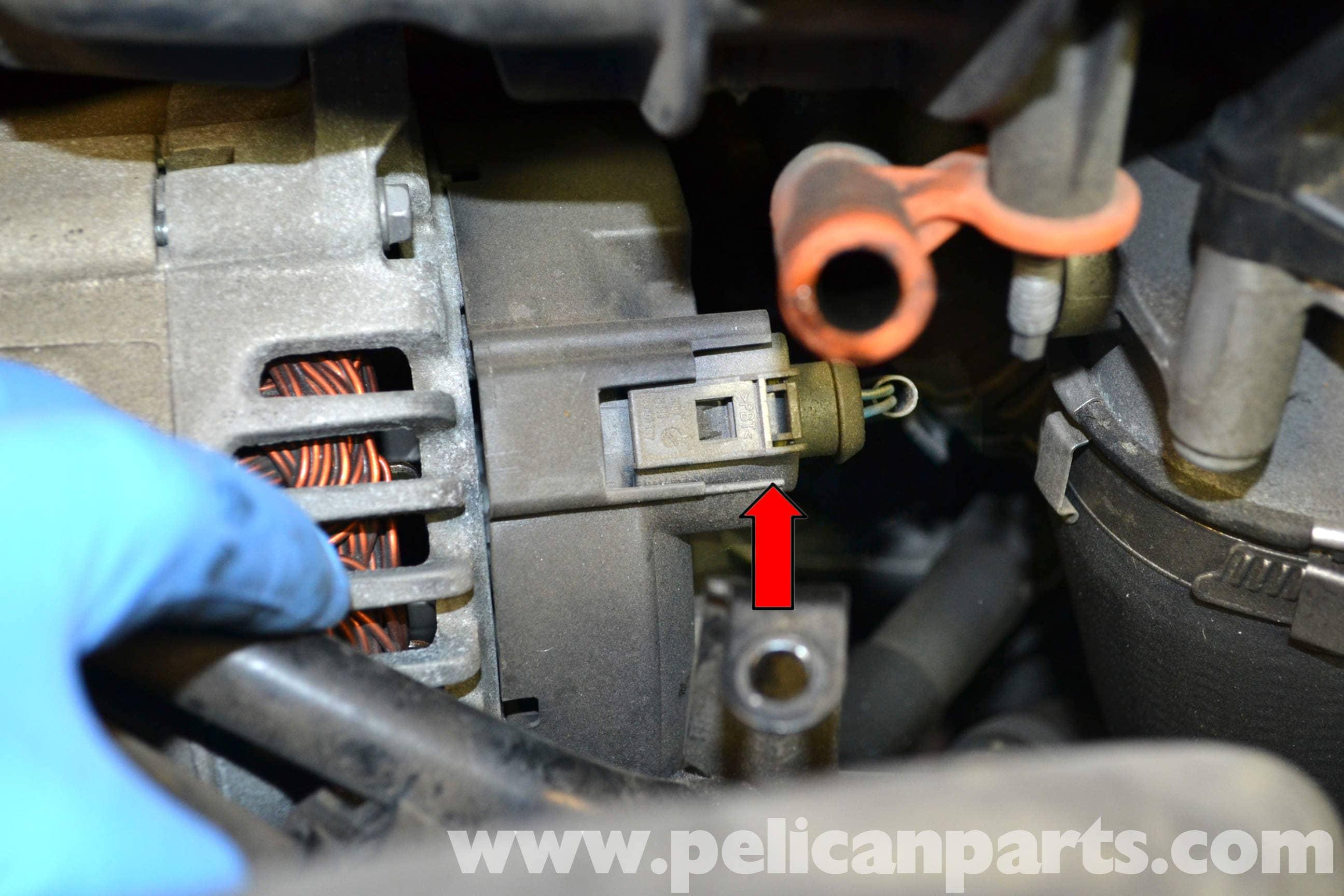 Volkswagen Golf GTI Mk V Alternator Replacement (2006-2009 ... on