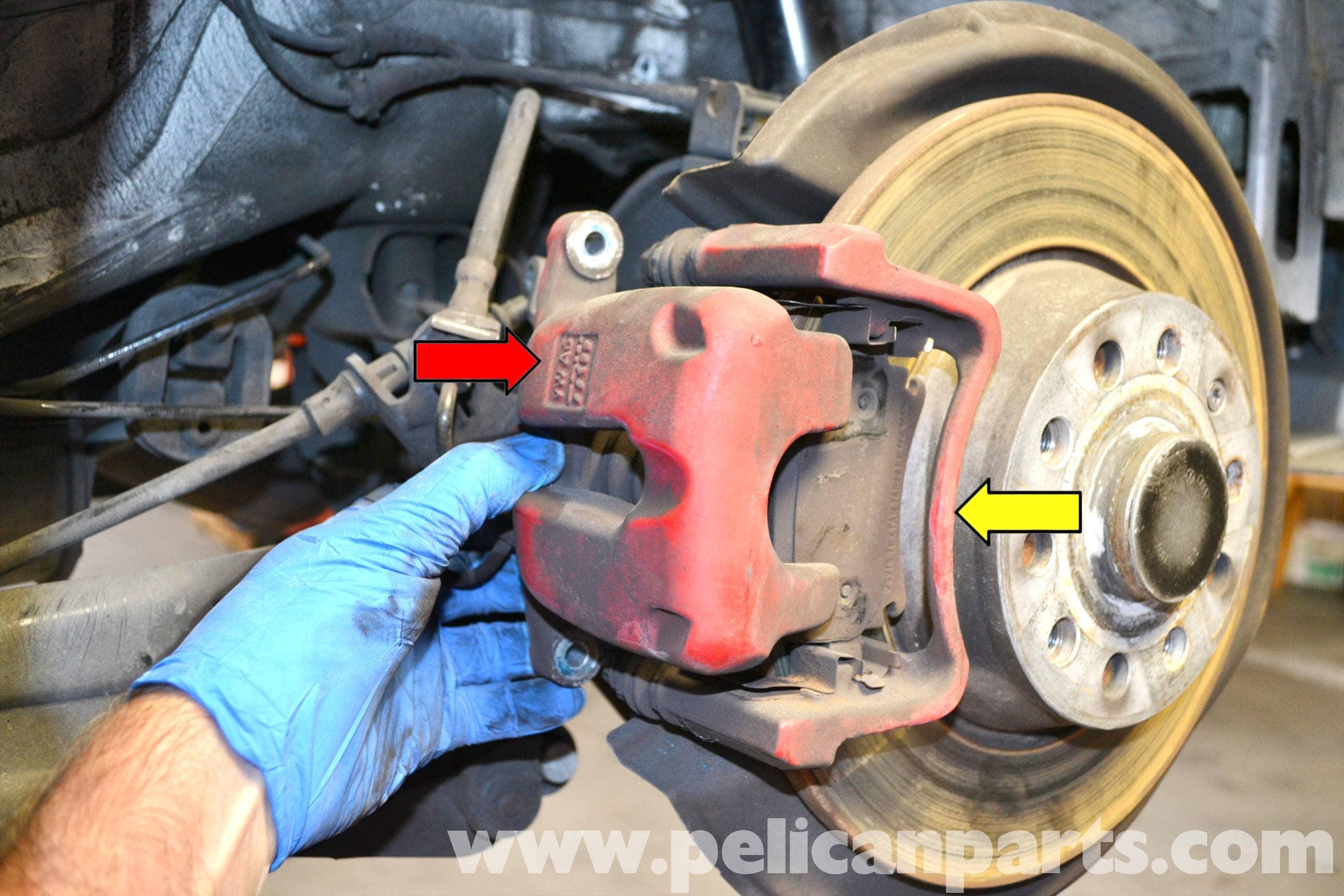 Volkswagen Golf Gti Mk V Rear Brake Caliper Replacement