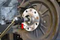 Remove the 18mm triple square bolt.