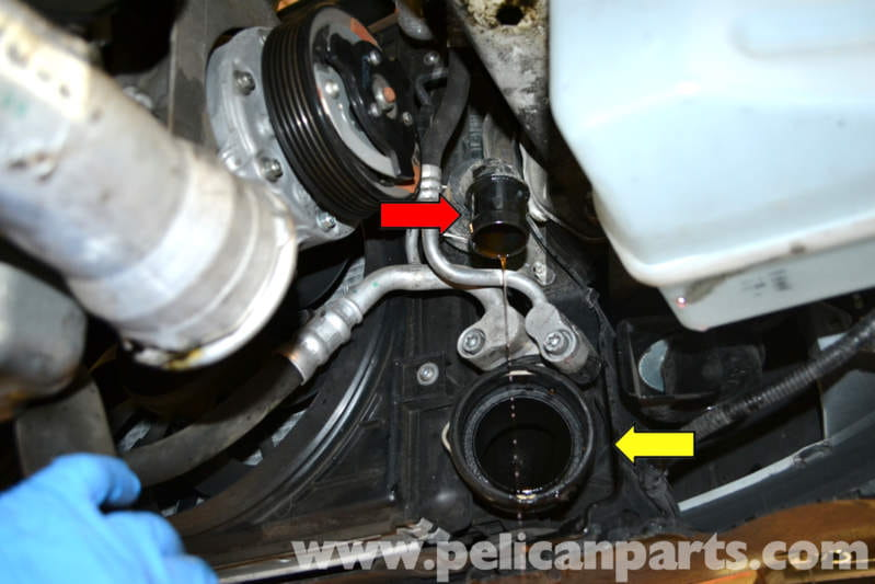 Volkswagen Golf Gti Mk V Coolant Flush And Replacement