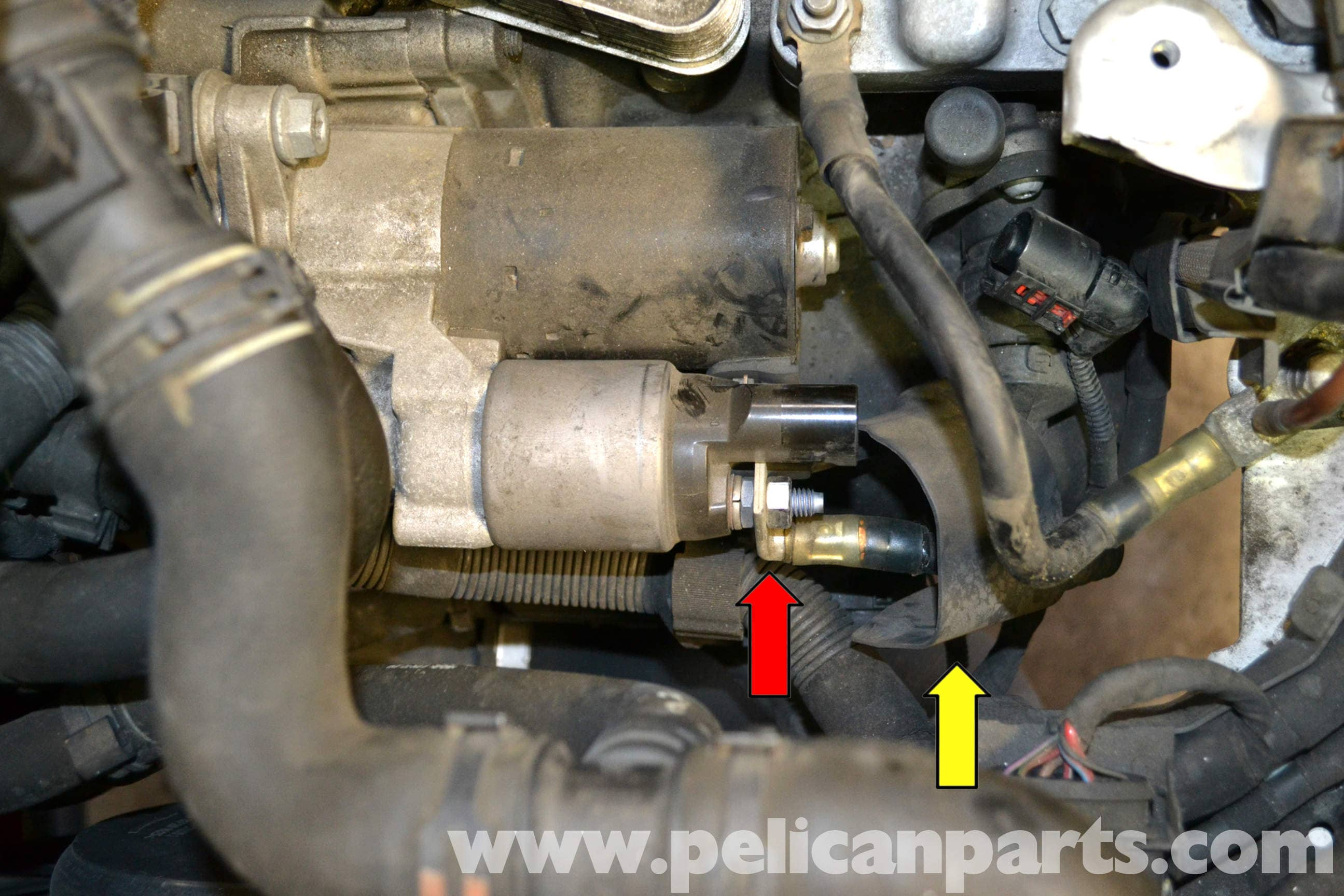 Volkswagen Golf GTI Mk V Starter Replacement (2006-2009 ...