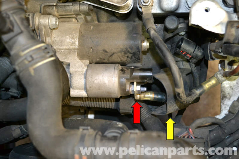 Volkswagen Golf Gti Mk V Starter Replacement 20062009 Pelican Rhpelicanparts: Vw Jetta Starter Location At Gmaili.net