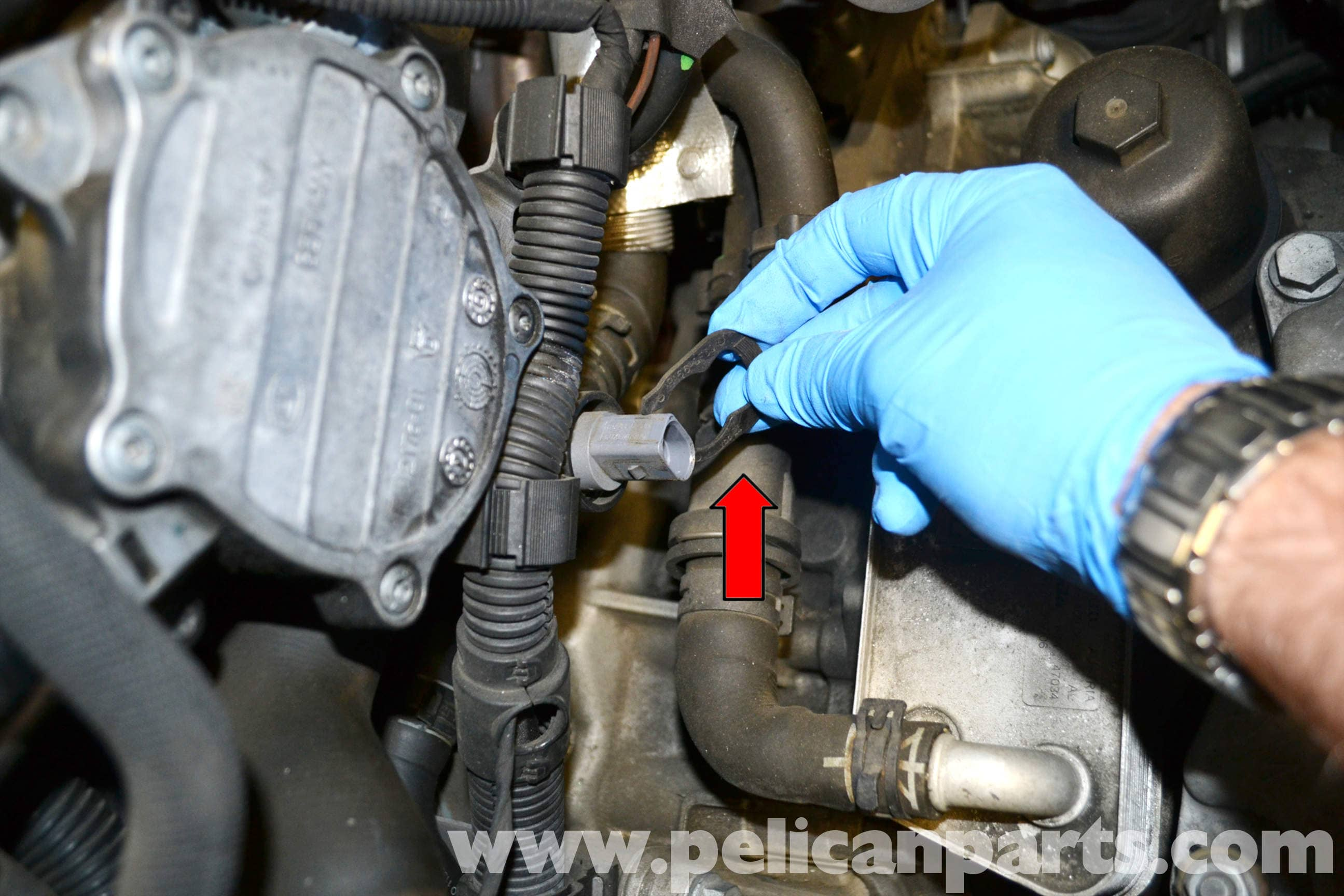 Volkswagen Golf Gti Mk V Coolant Temperature Sensor Replacement Gm Engine Large Image Extra