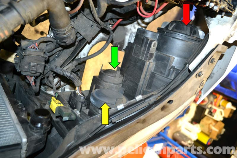how to change front light bulb on volkswagen passet 2013