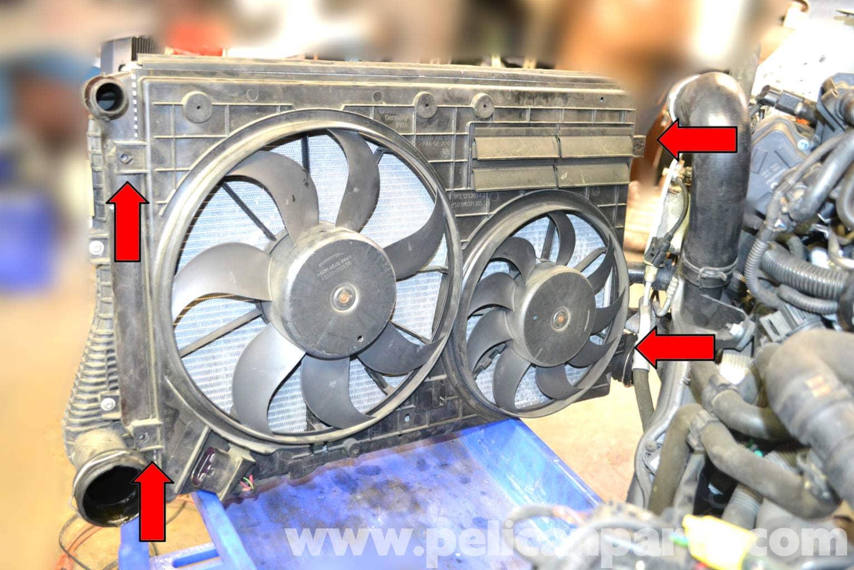 Volkswagen Golf Gti Mk V Radiator Replacement  2006