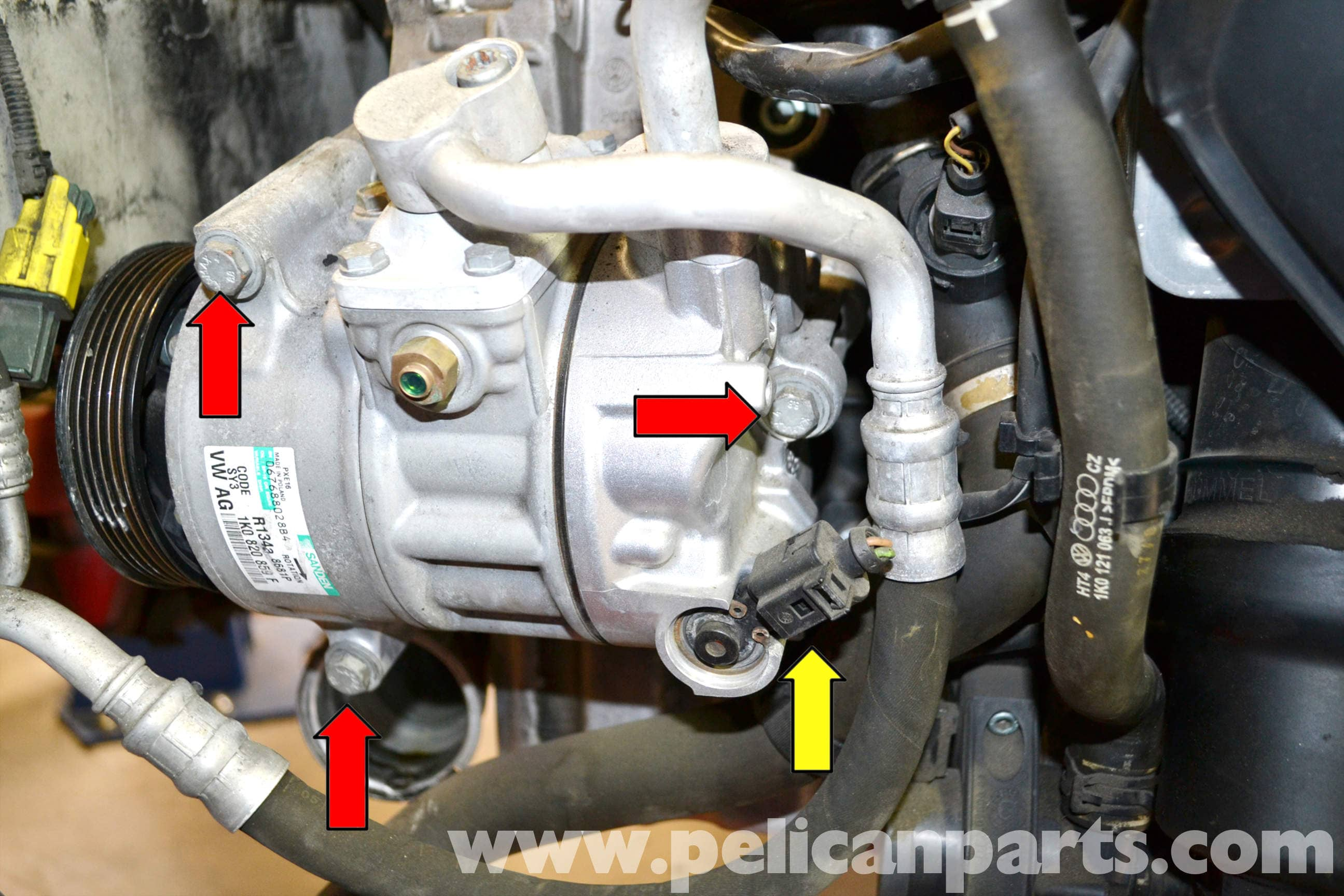 Replacing belt tensioner price