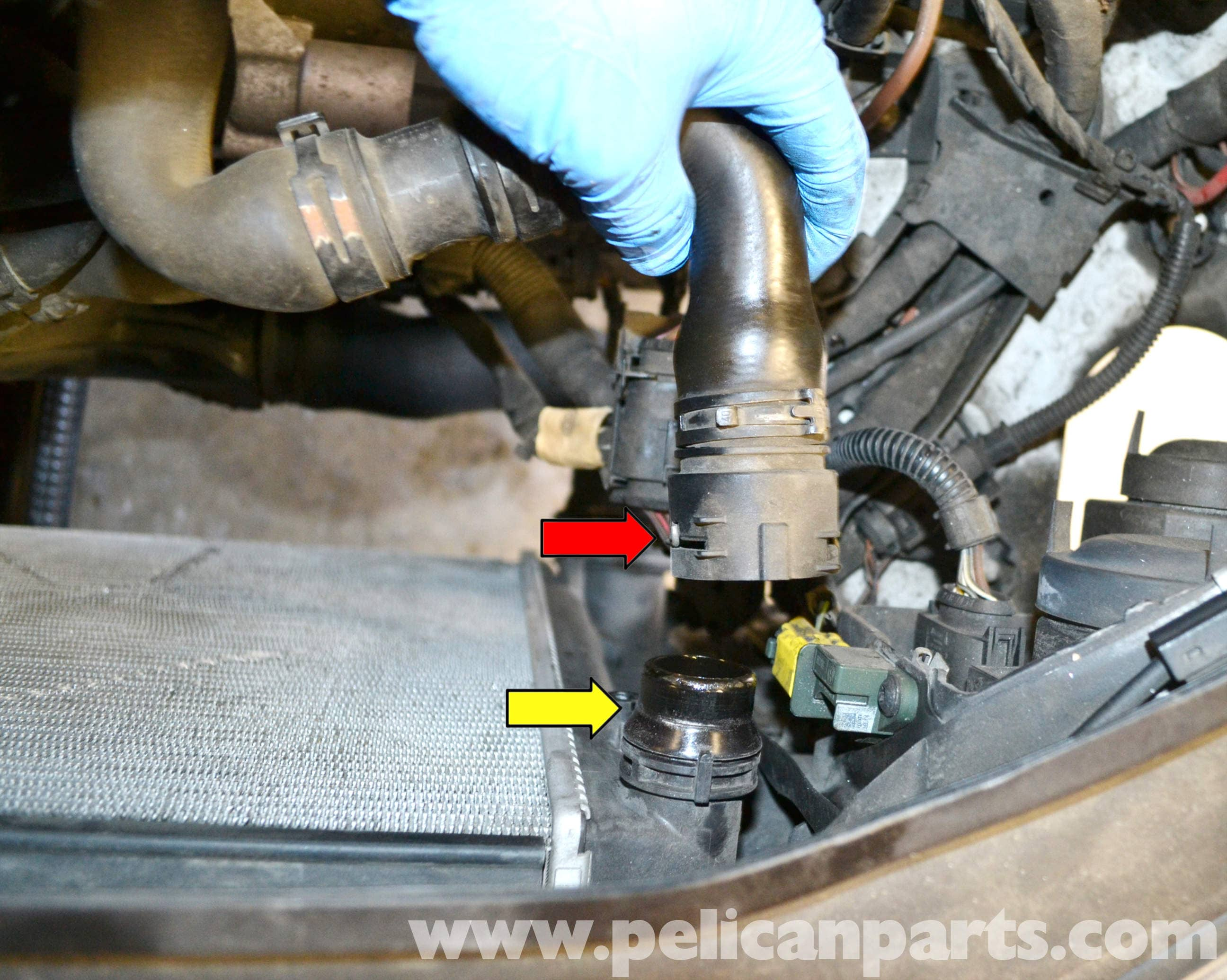 Volkswagen Golf Gti Mk V Radiator And Coolant Hose