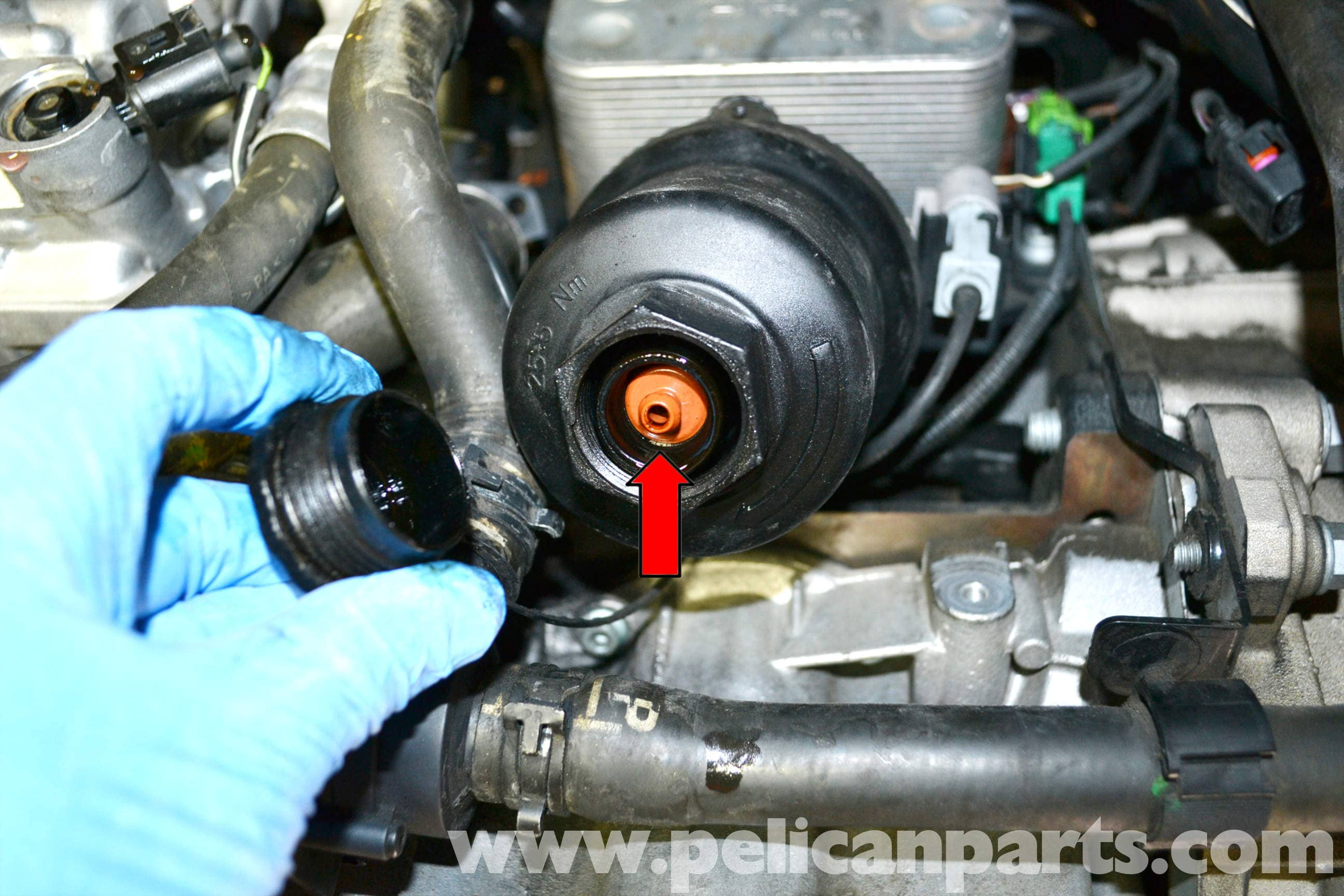 Volkswagen Golf Gti Mk V Oil Level And Temperature Sensor