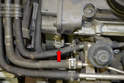 The cam shaft sensor is relatively easy to remove.