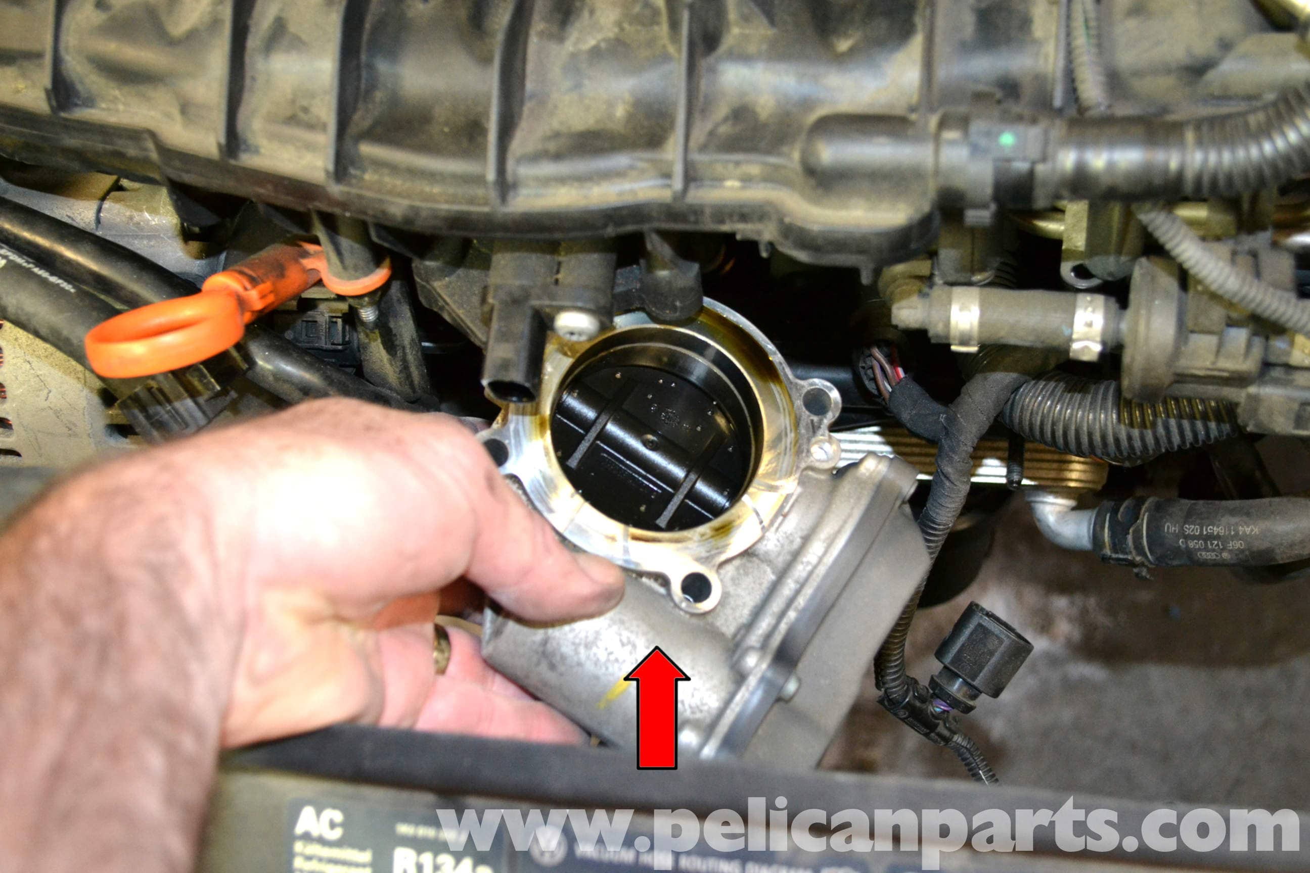 Volkswagen Golf GTI Mk V Throttle Body Cleaning and