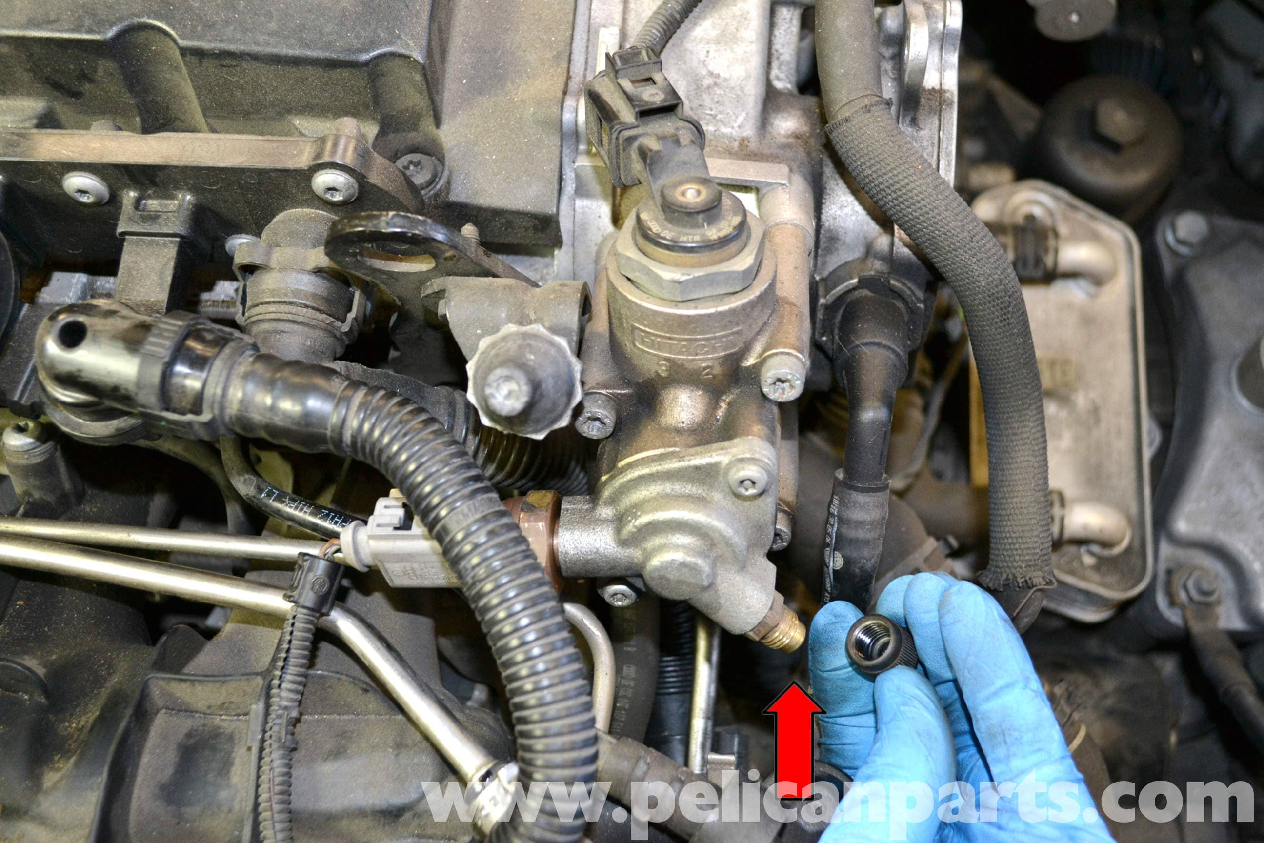 Volkswagen Golf Gti Mk V High Pressure Fuel Pump Replacement 2006 Large Image Extra
