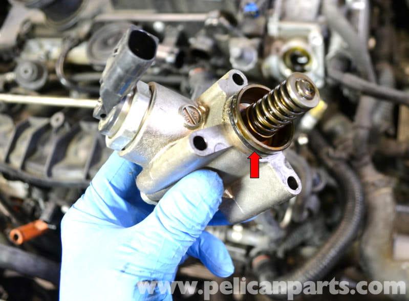 Volkswagen Golf GTI Mk V High Pressure Fuel Pump Replacement