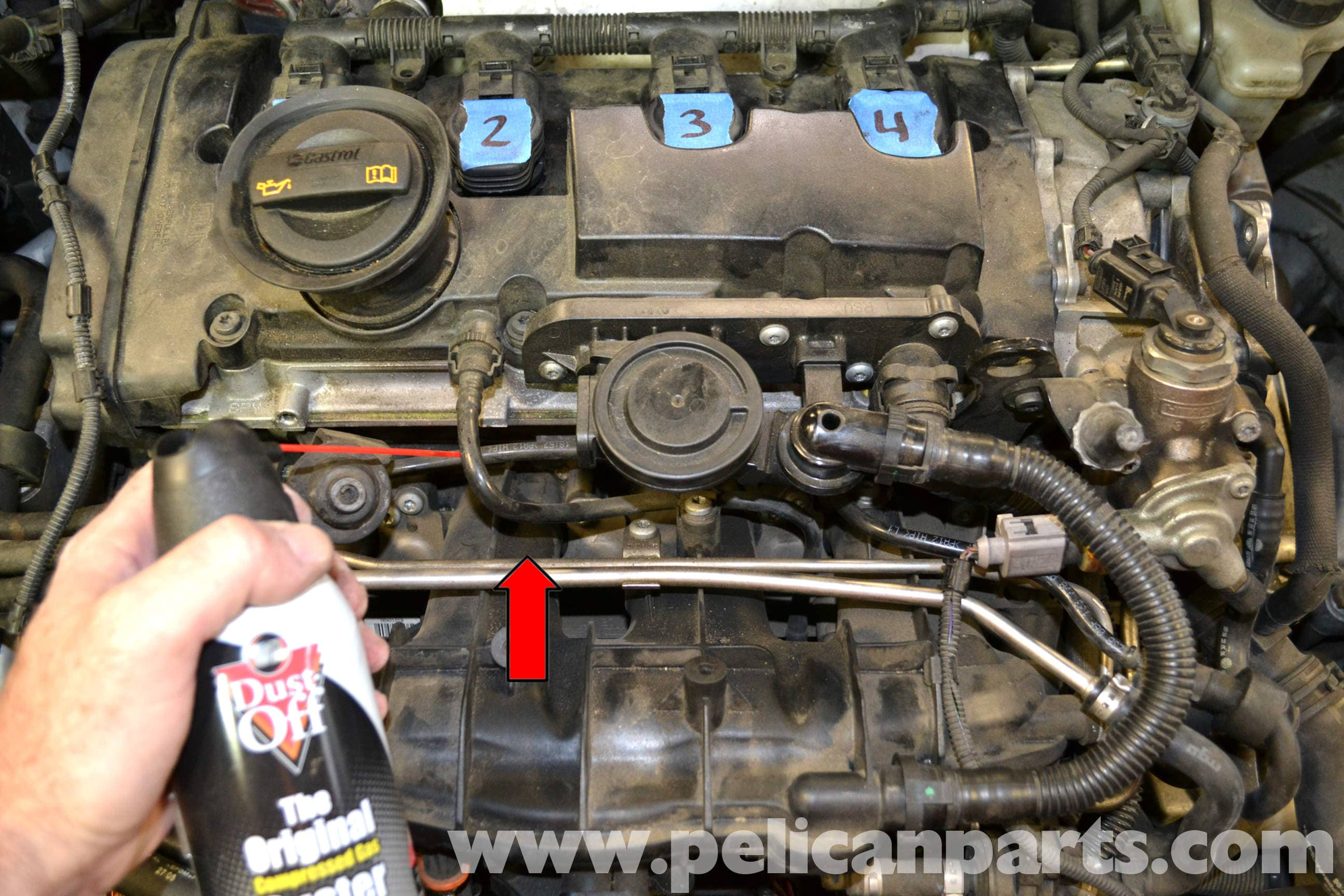 Volkswagen Golf GTI Mk V Intake Manifold Removal (2006-2009) - Pelican Parts DIY Maintenance Article