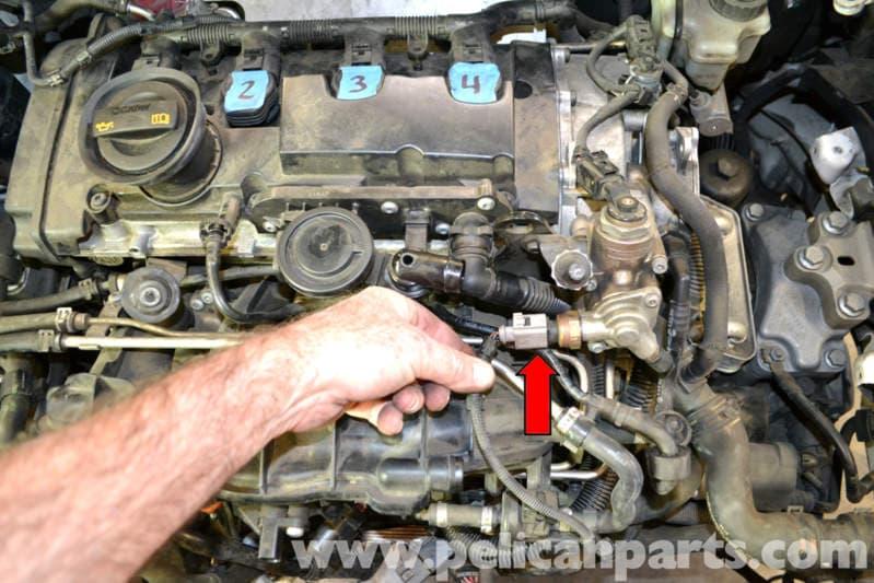 volkswagen golf gti mk  intake manifold removal   pelican parts diy maintenance article