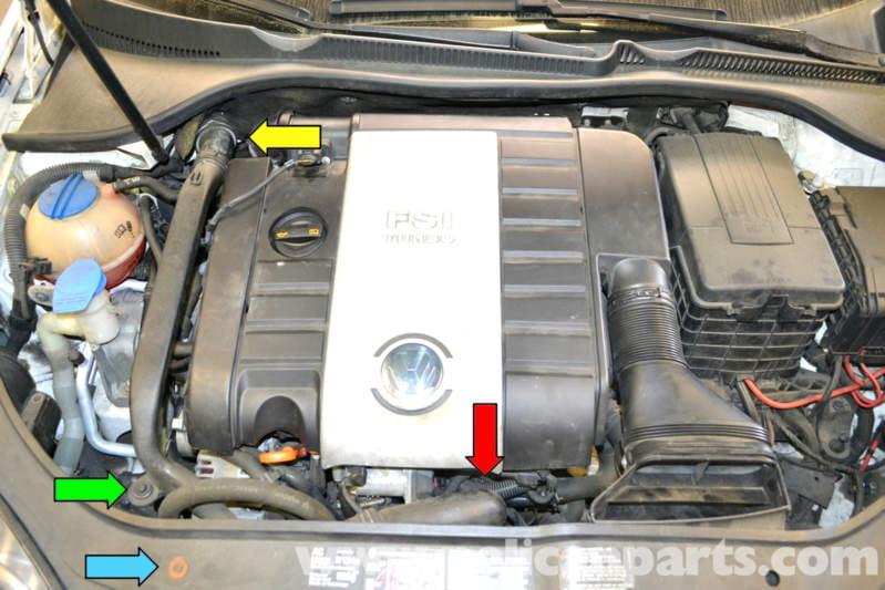 Volkswagen Golf GTI Mk V Turbo Replacement (2006-2009