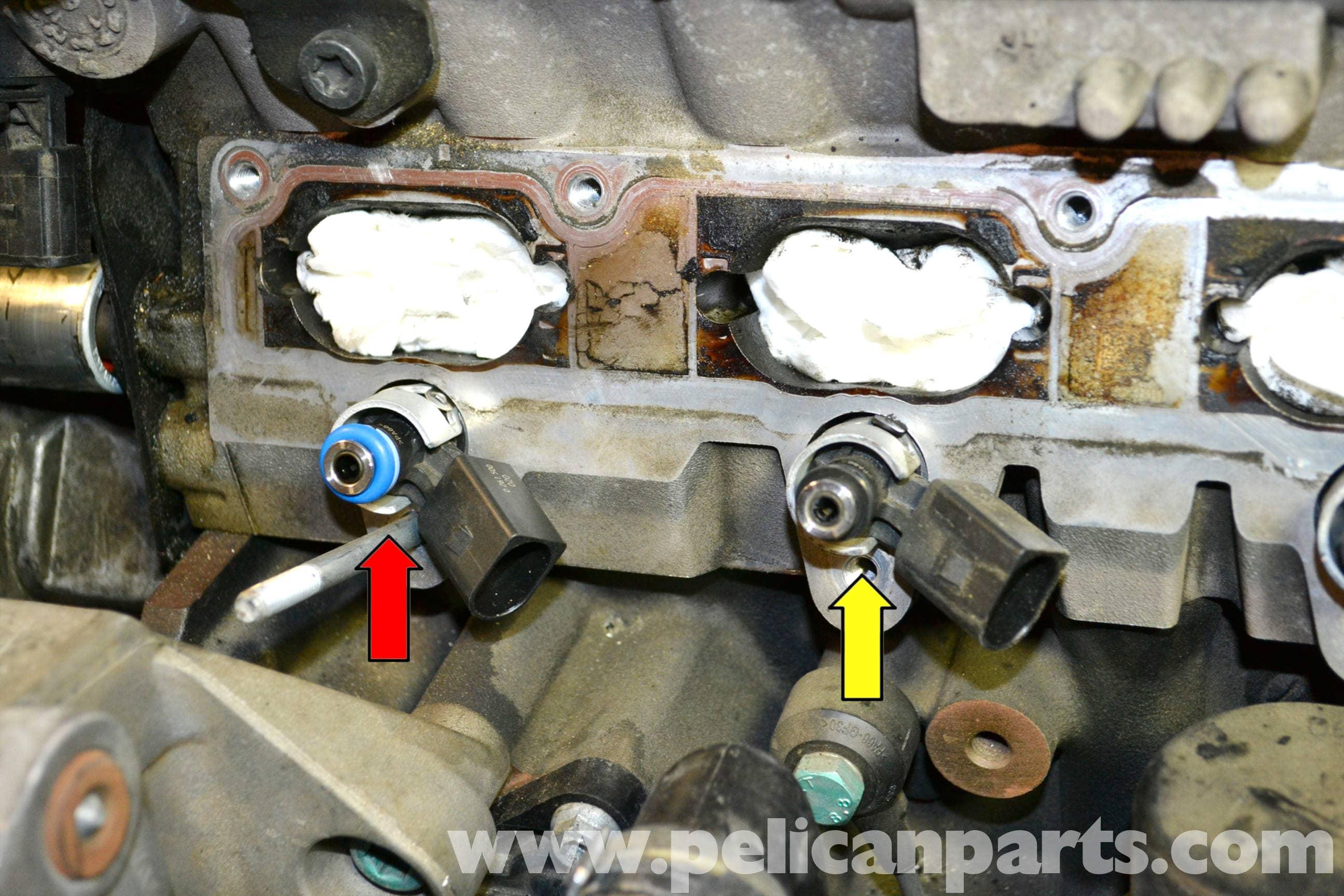 Volkswagen Golf Gti Mk V Fuel Injector Replacement  2006