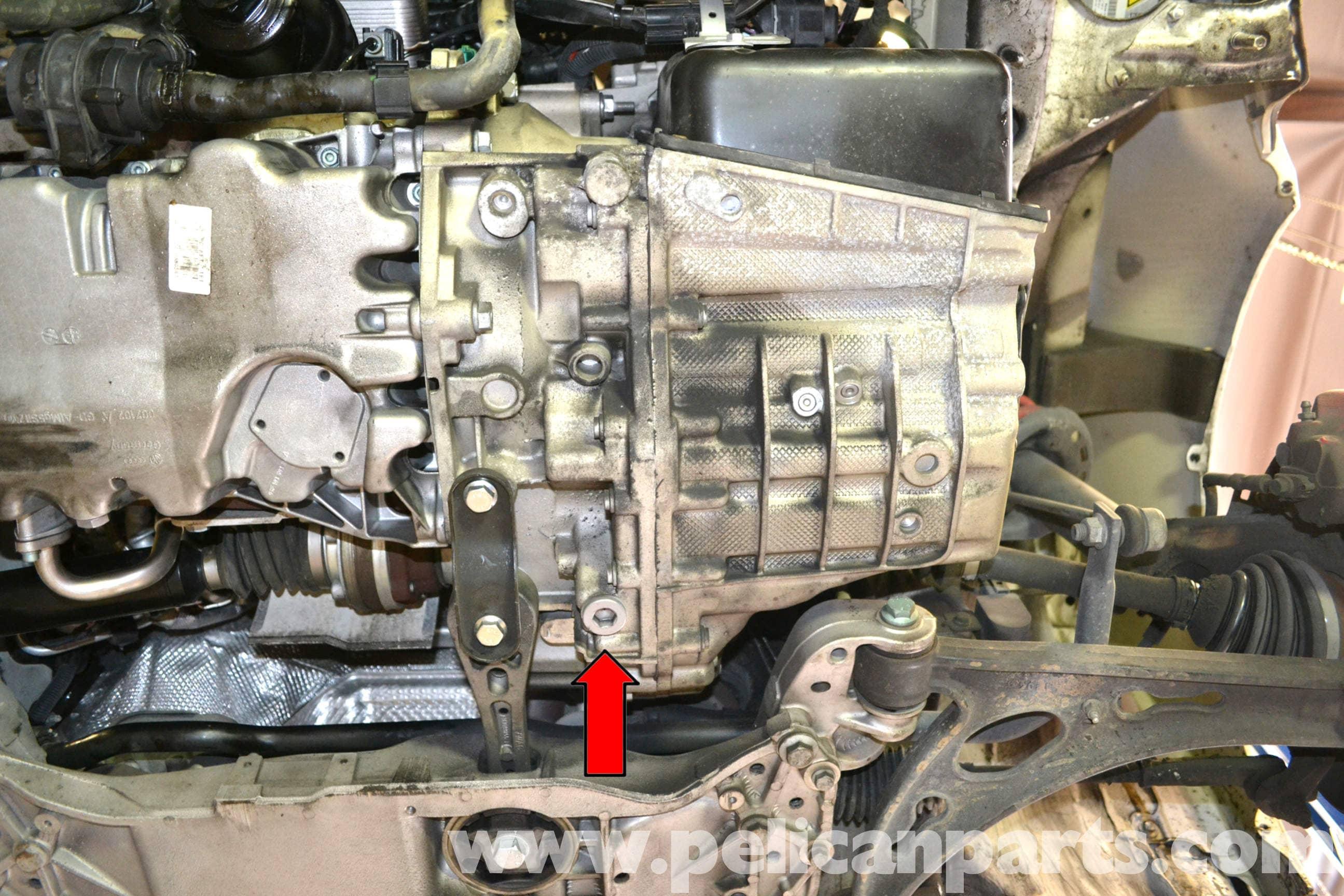Volkswagen Golf Gti Mk V Dsg Transmission Oil And Filter Replacement Beetle Engine Coolant Drain Plug Large Image Extra