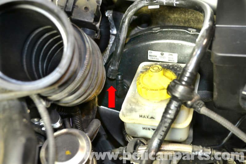 Volkswagen Golf GTI Mk V Brake Master Cylinder and Reservoir Replacement  20062009   Pelican