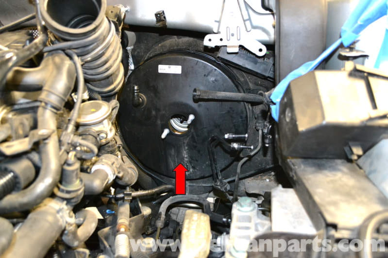 Volkswagen    Golf       GTI    Mk V Brake Booster Replacement  2006