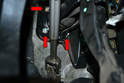 There are four 13mm nuts holding the brake booster to the firewall and pedal box.