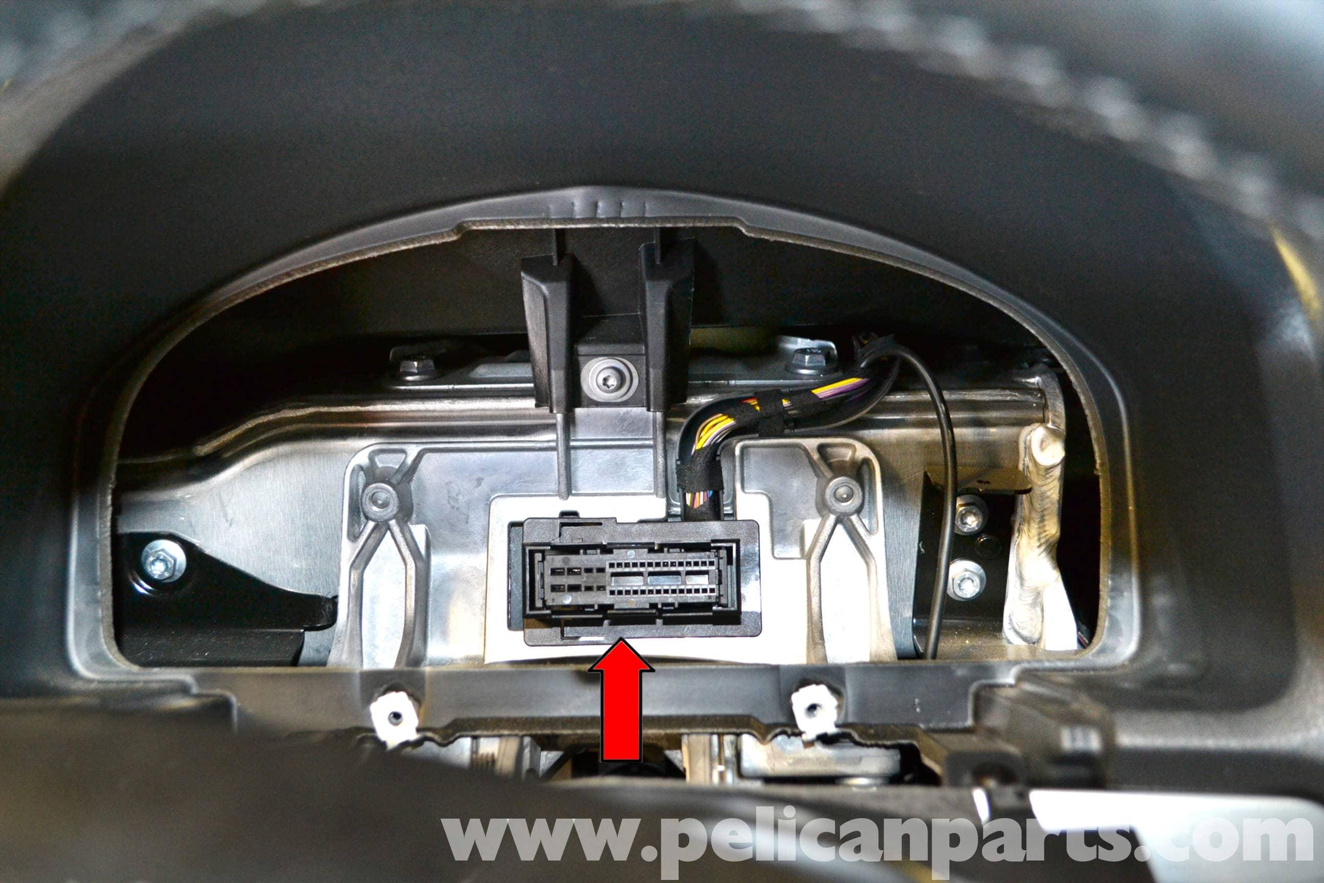Volkswagen Golf GTI Mk V Instrument Cluster Removal (2006-2009