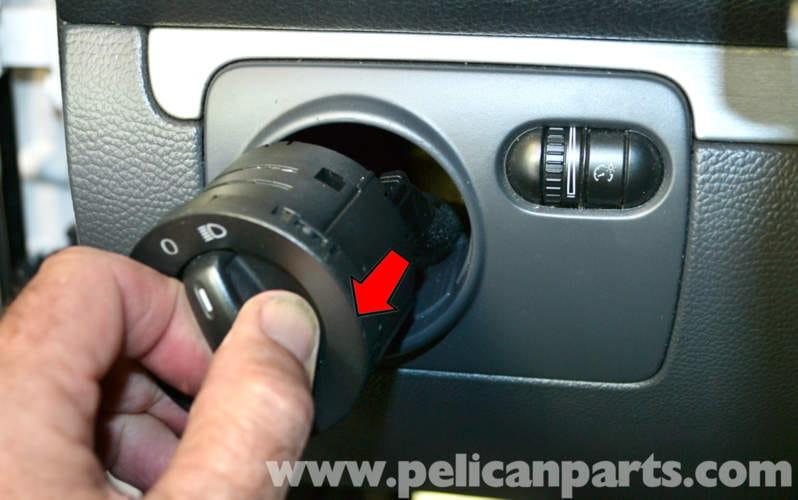 Volkswagen Golf Gti Mk V Headlight Dimmer Switch