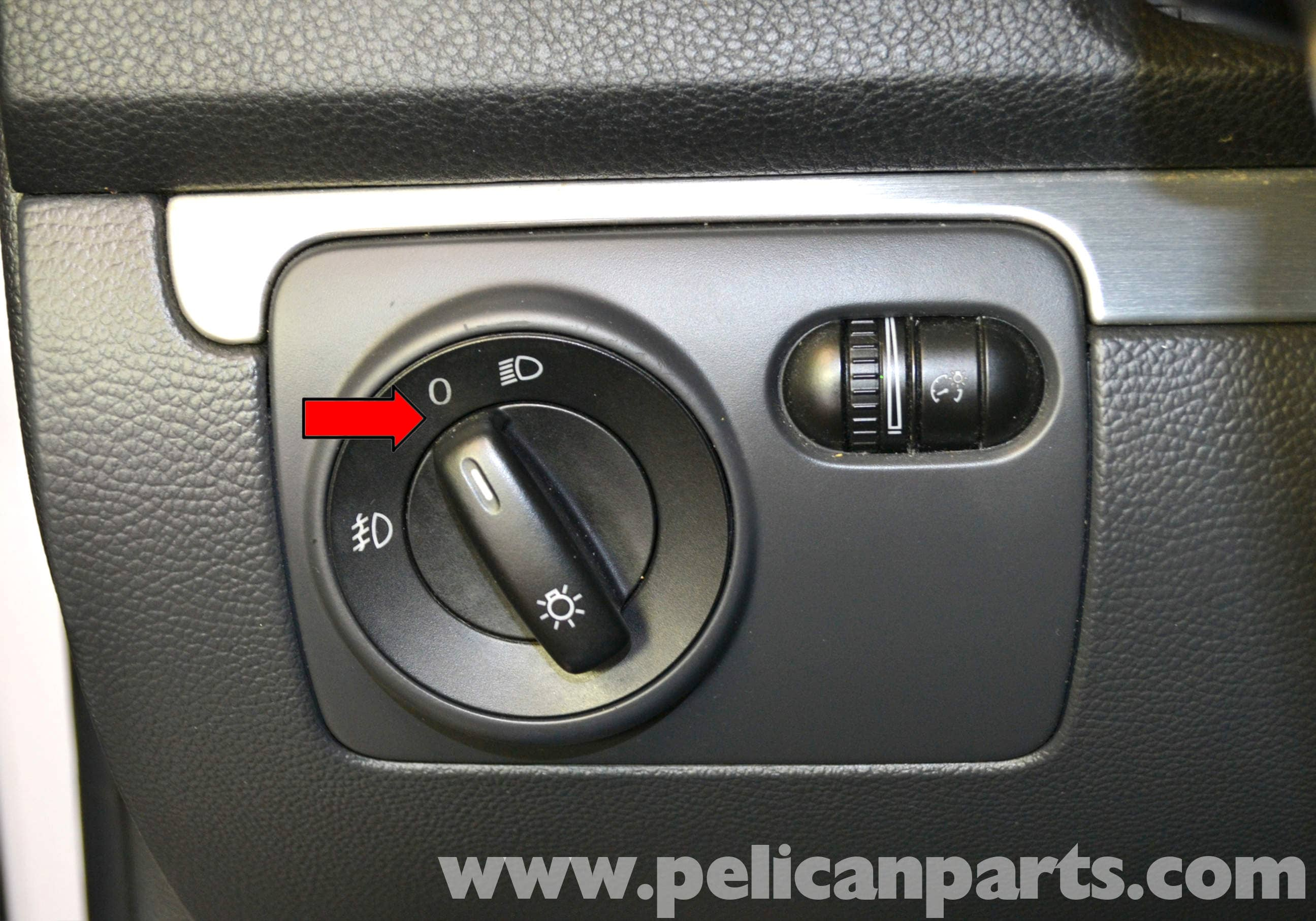Volkswagen Golf Gti Mk V Lower Dash Removal 2006 2009 Pelican 1987 Headlight Wiring Large Image Extra