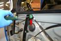 Regulator: Remove the four T30 Torx screws holding the regulator to the door.