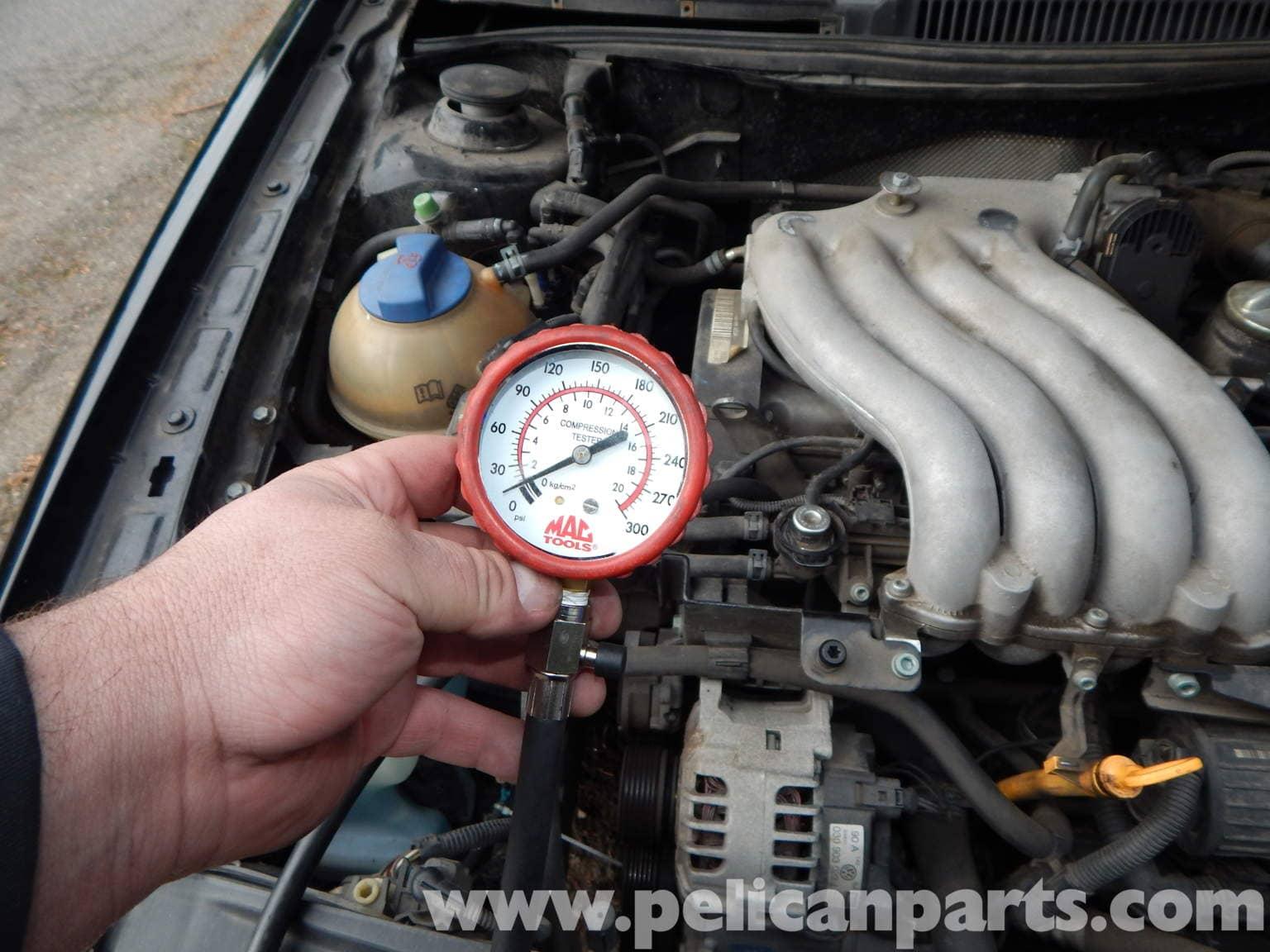 Volkswagen Jetta Mk4 Compression Test | Jetta Mk4 2.0L ...