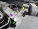 Shown here is the MAF sensor for the Mk4 Jetta 2.