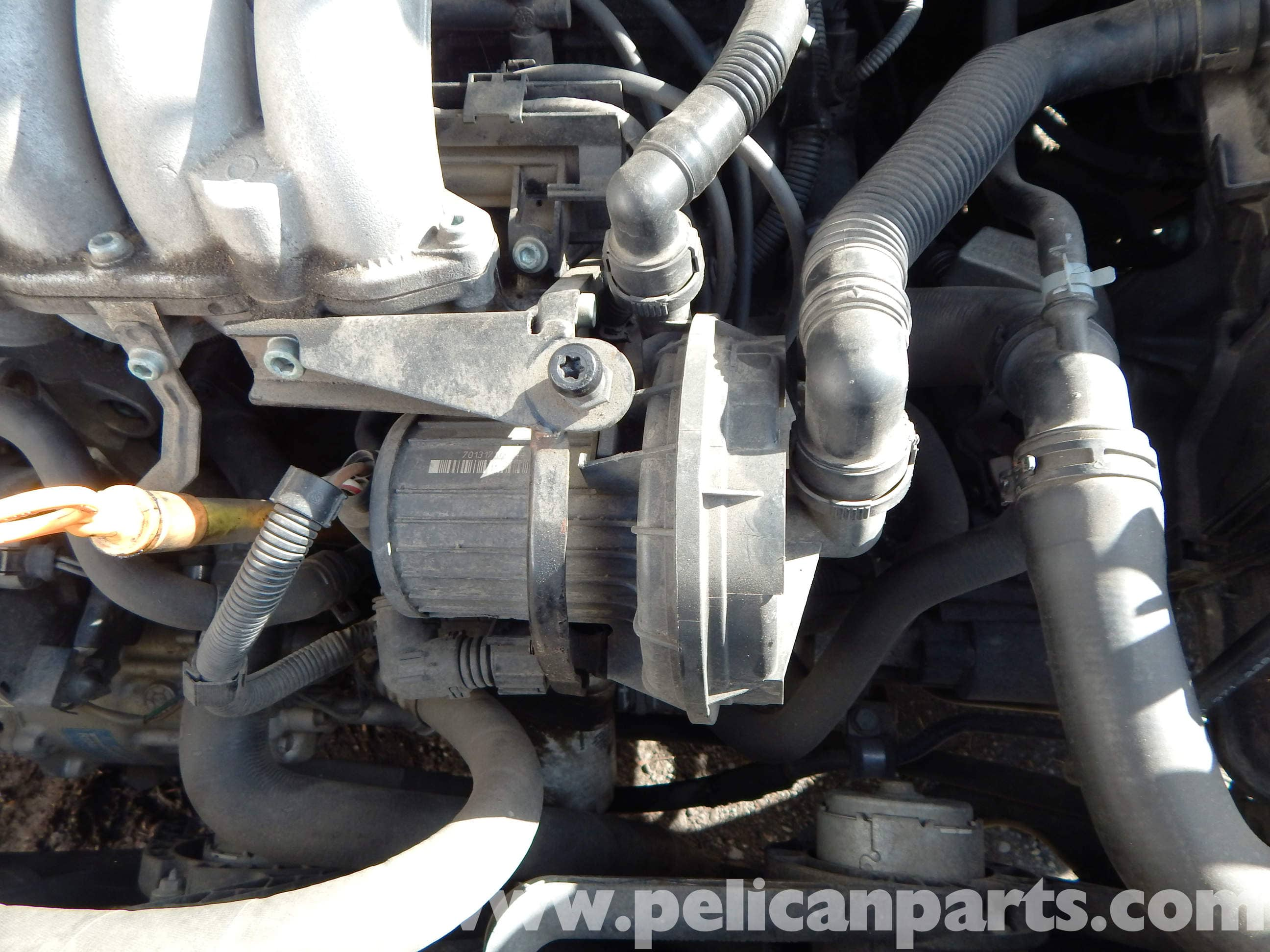Volkswagen Jetta Mk4 Secondary Air Pump Replacement | Jetta Mk4 2.0L (1998-2005) | Pelican Parts ...