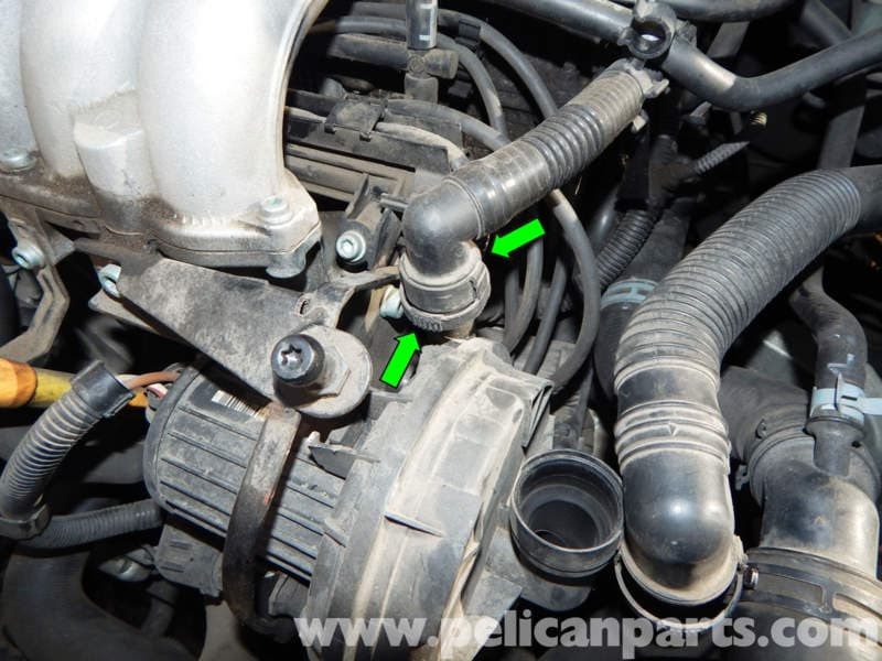 volkswagen jetta mk4 secondary air pump replacement